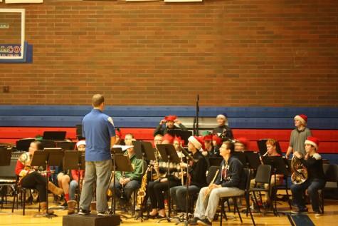 Annual Christmas Concert Brings Cheer to Students Before Break