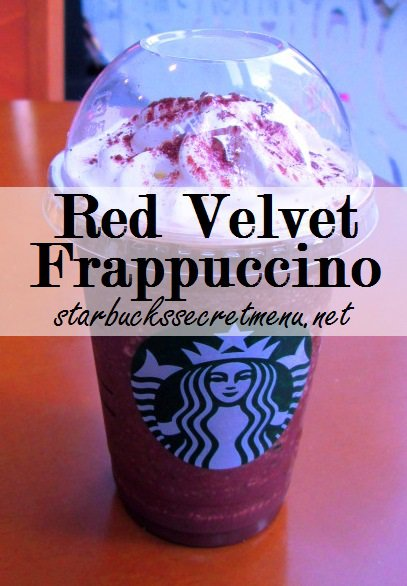 Red Velvet Cake Coffee Syrup