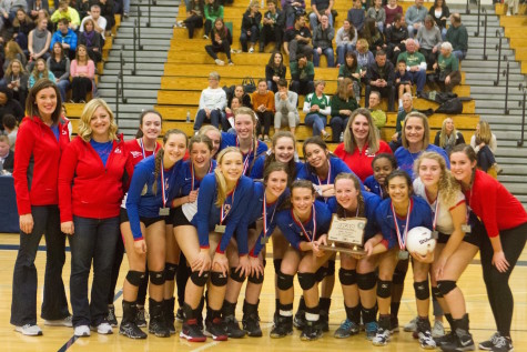 La Salle Volleyball Earns 2nd Place Finish in State