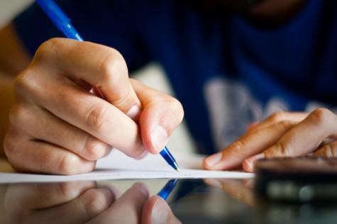 La Salle Students Contemplate Next Year's Rigorous Courses