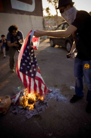 Why We Shouldn't be Allowed to Burn the American Flag