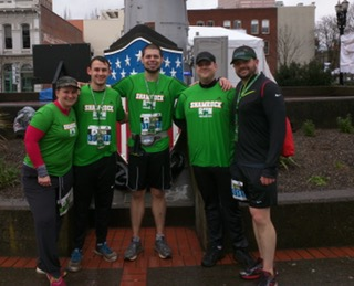 La Salle Students and Staff Gearing Up to Take on the Shamrock Run this Sunday