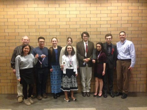 La Salle's Speech and Debate Team Gets Excited as Seven Students Head to State
