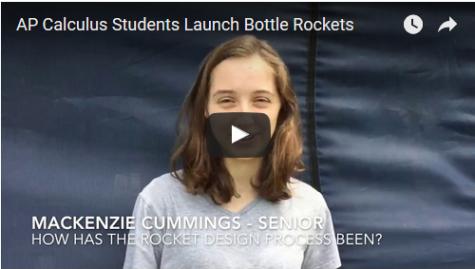 AP Calculus Students Launch Final Project: Bottle Rockets