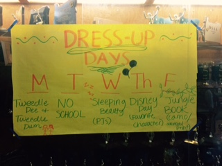 Once Upon a Time: Homecoming Week 2014