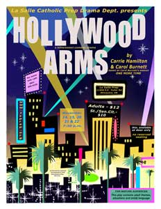 La Salle's Fall Play: Hollywood Arms