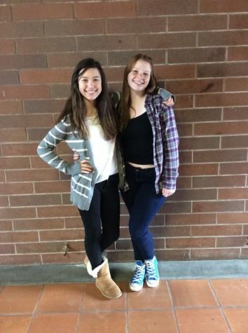 Julianna Sprague and Zoe Jones