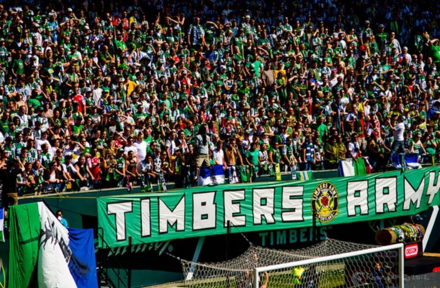 Timbers+fans+