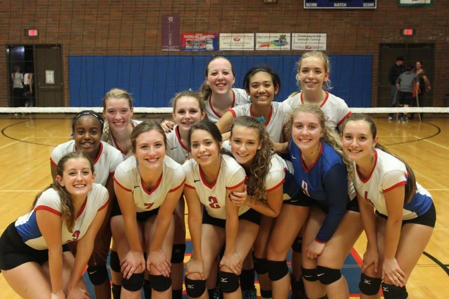 Volleyball+Heading+to+State