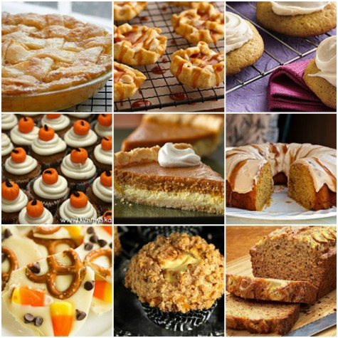 Sweet and Simple Fall Desserts