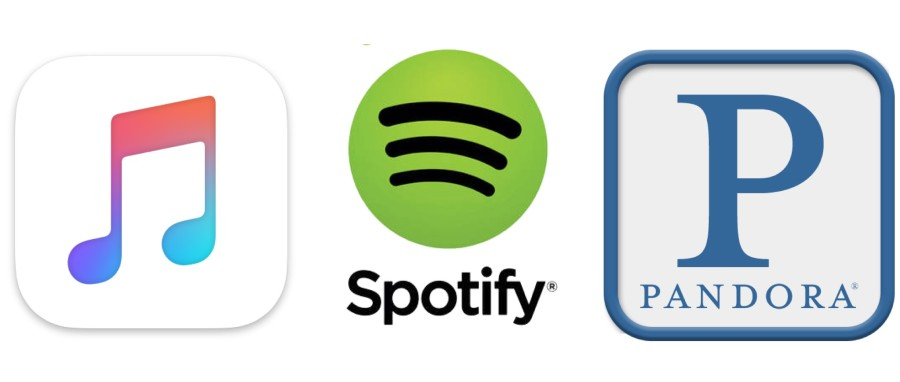 Apple Music vs Spotify vs Pandora