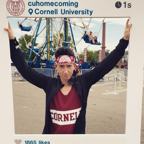 Tyler Nierstedt '15 Excels at Cornell