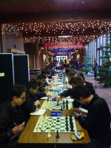 The Chess Team Nears the End of a Successful Season
