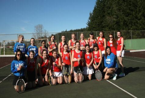 Girls Tennis: Serving Up a Racket