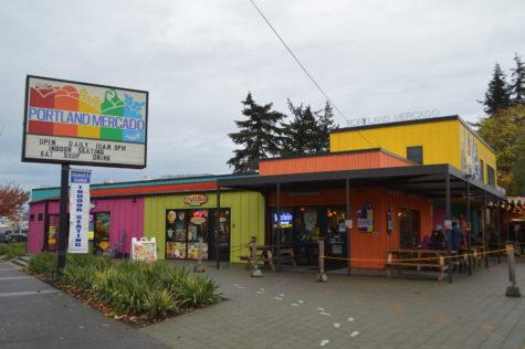 The Portland Mercado sign