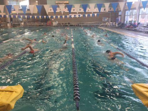 La Salle Swim Team Prepares for First Meet of the Season