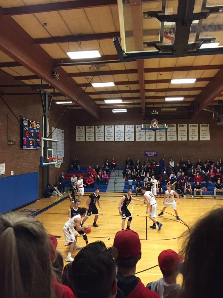 The boys basketball team defeated Mountain View 72-46 on Friday.