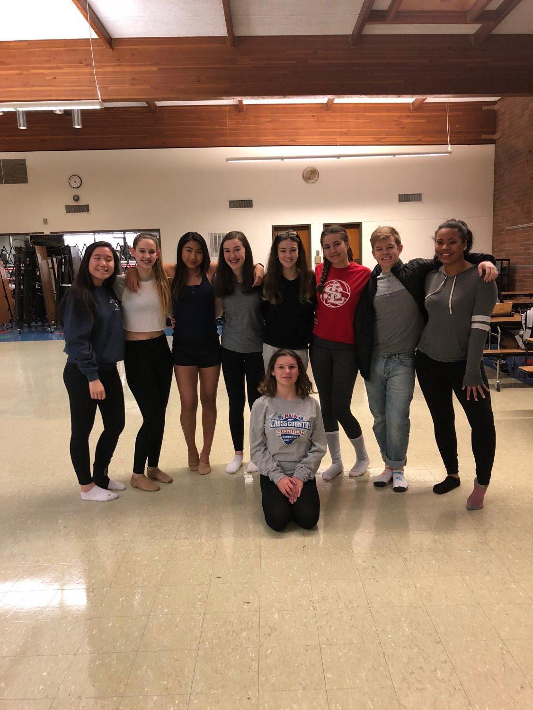 Members of La Salle's Dance Club