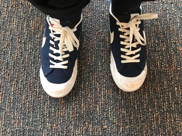 The+Shoes+That+Walk+La+Salle%27s+Hallways