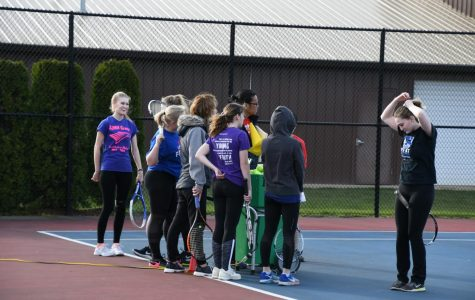 Girls Tennis Springs Into The Season