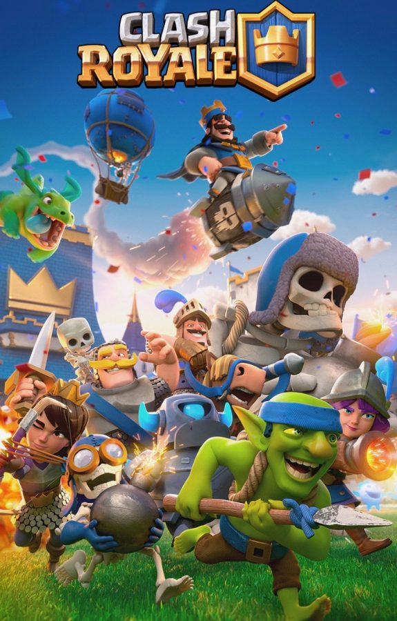 clash royale on