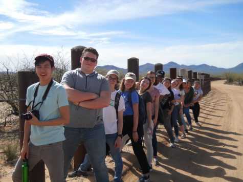 """El Otro Lado"": La Salle Students and Staff Experience ""The Other Side"" on the Arizona Border Immersion"