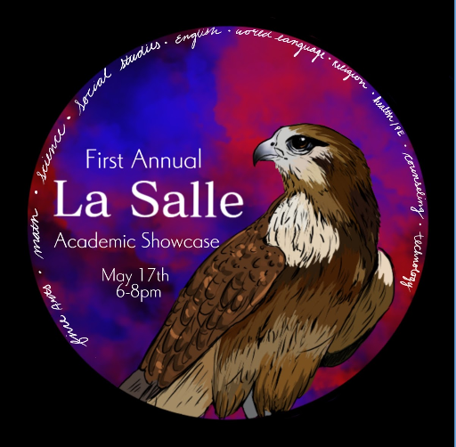 The logo for the Academic Showcase was designed by junior Ryan Fahlman-Katler.