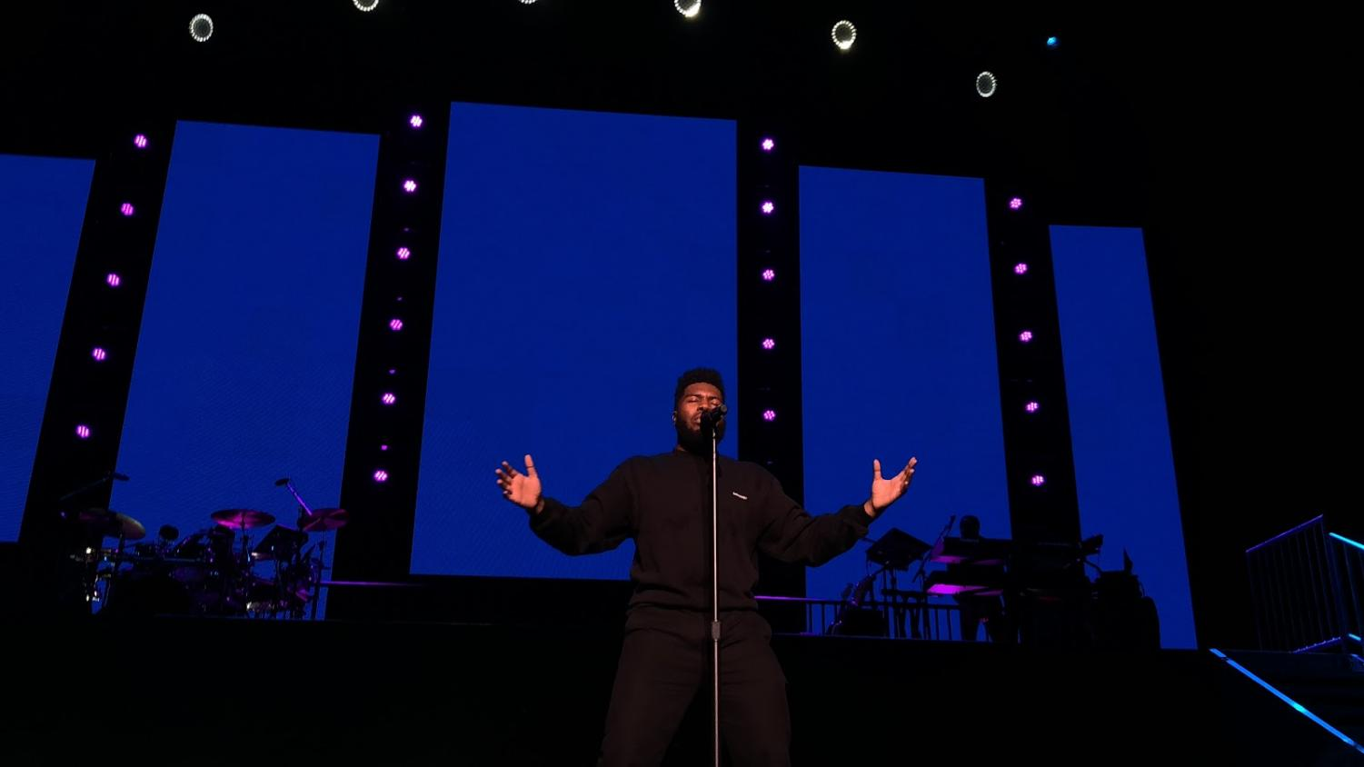 "Khalid poured his emotions out into his song ""Cold Blooded,"" from his ""American Teen"" album."
