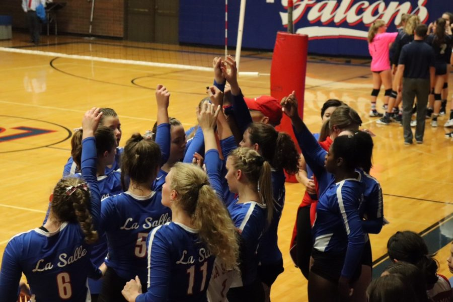 Queens of the Court: #12 Girls Varsity Volleyball Team Heads Towards the Playoffs