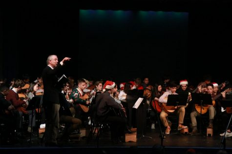 Photo Feature: La Salle's Guitar Classes and Choir Perform at the Annual Christmas Concert