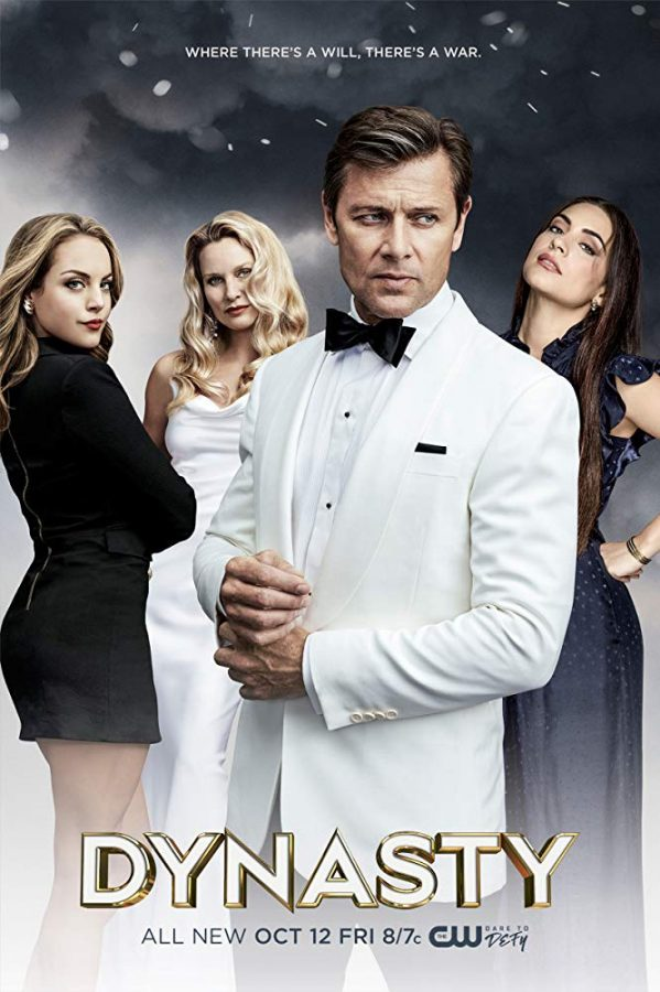 %22Dynasty%22+on+Netflix+stars+%28from+left+to+right%29+Elizabeth+Gillies%2C+Nicollette+Sheridan%2C+Grant+Show%2C+and+Ana+Brenda+Contreras.