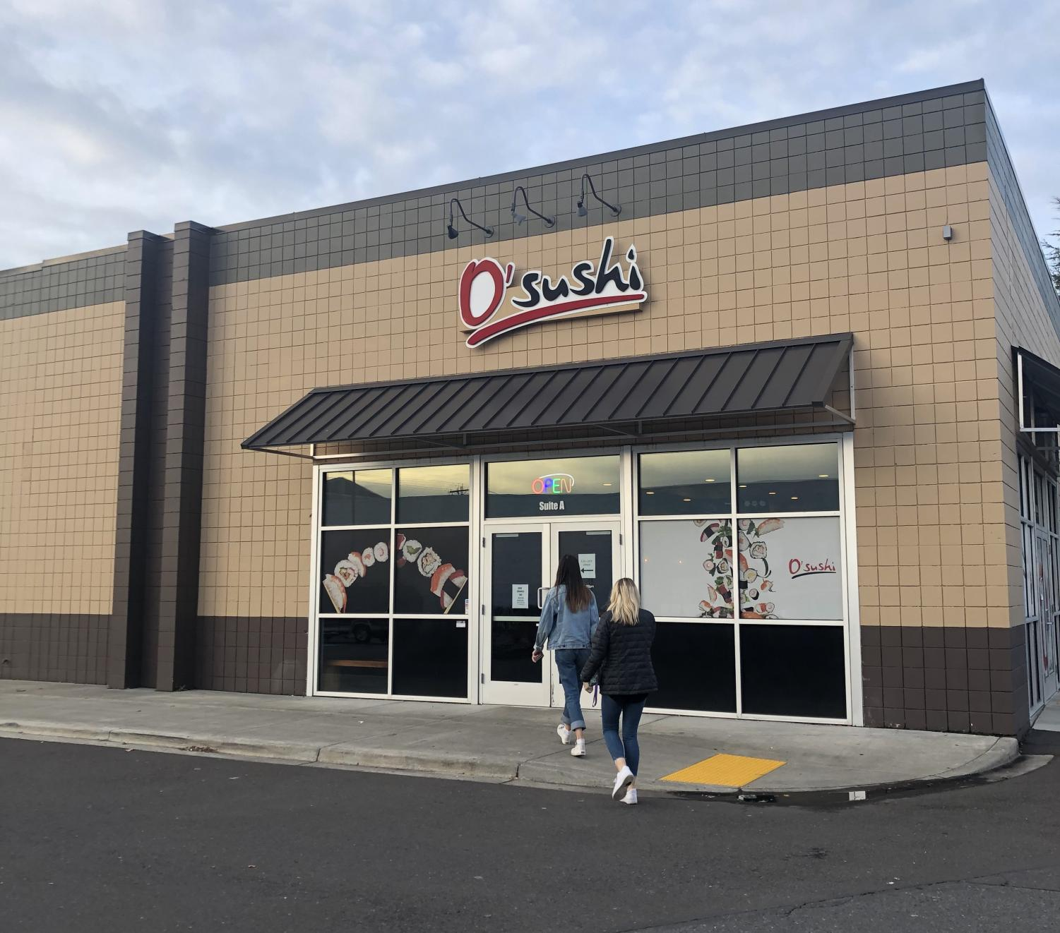 O'Sushi is located on 11424 SE 82nd Ave., just a three minute drive or fifteen minute walk from La Salle.