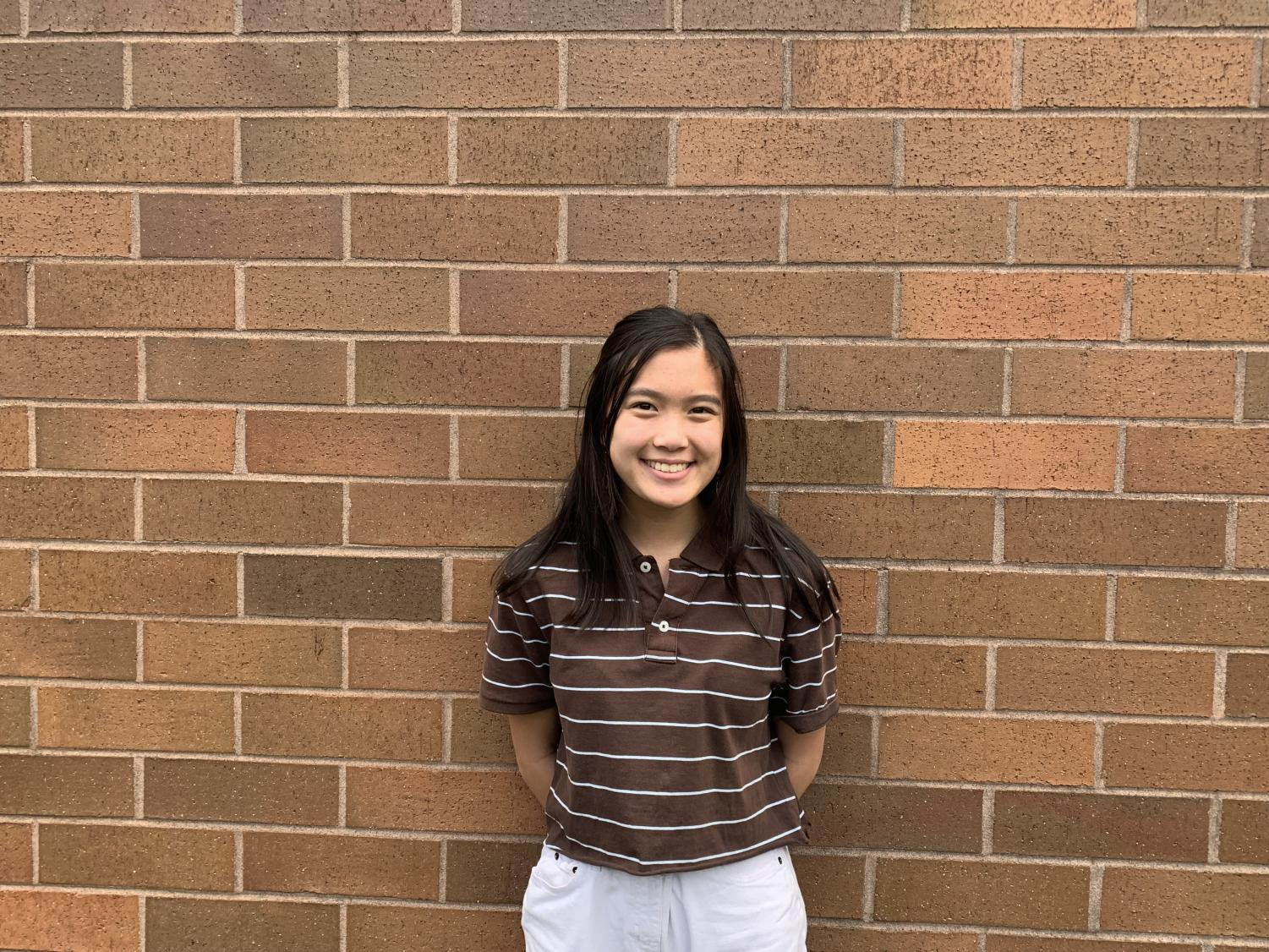 Hanna Nguyen is on the varsity swim and cross country team.