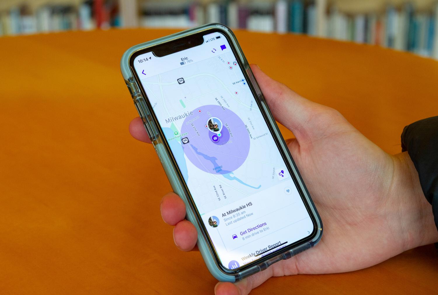In a survey of 53 La Salle students, 56.6 percent of them reported that they are tracked in some way by their parents, whether it be their location or their website history.