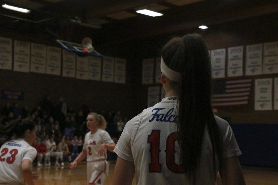 Winter Sports in Action: Girls Basketball Game vs. Wilsonville