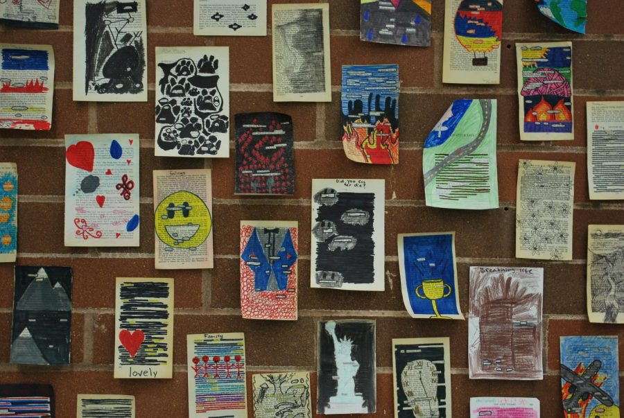 The portfolios will consist of students' best work over the course of their four years.