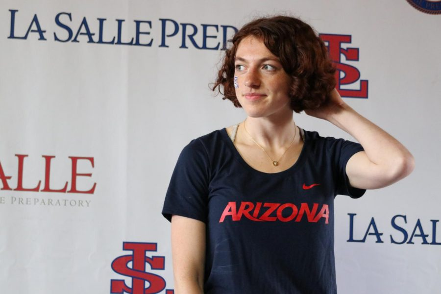 Senior Brigid Hanley Gets a Full Ride to the University of Arizona for Both Track and Cross Country