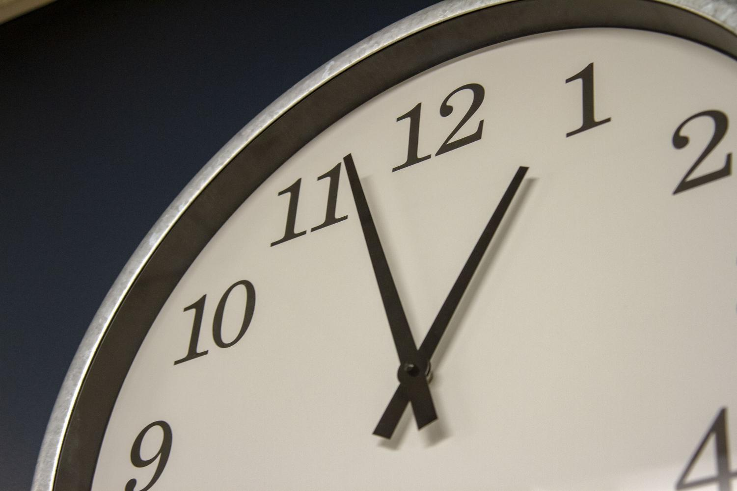 The twice-a-year time change of daylight saving time should be removed because the law is outdated and disruptive.