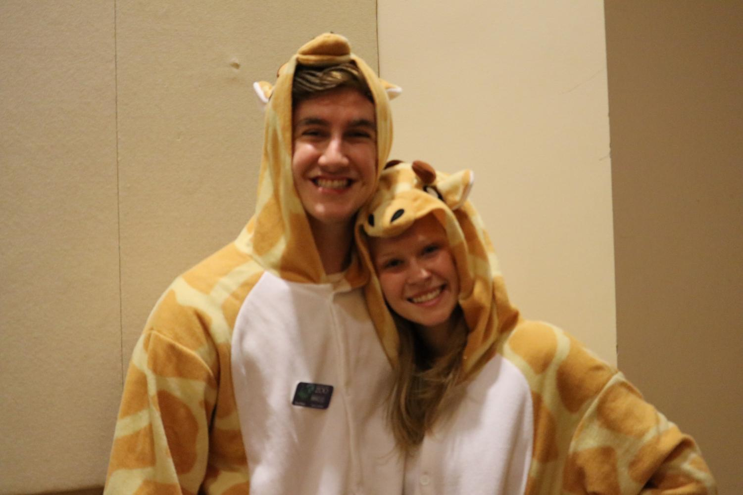 During a three hour midsummer training, ZooTeens dress up to act out a scene to practice zoo protocols.