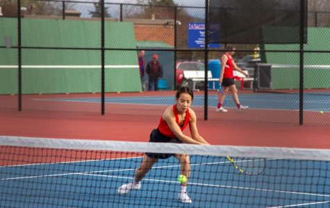 Spring Sports in Action: Varsity Girls Tennis Takes On Grant