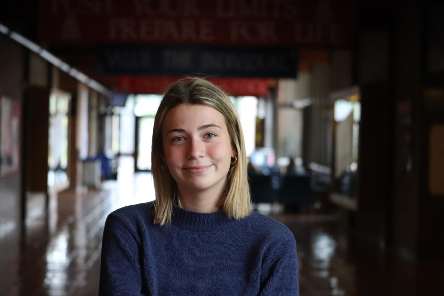Choate, who is an attacking midfielder, has been playing soccer since she was three years old.