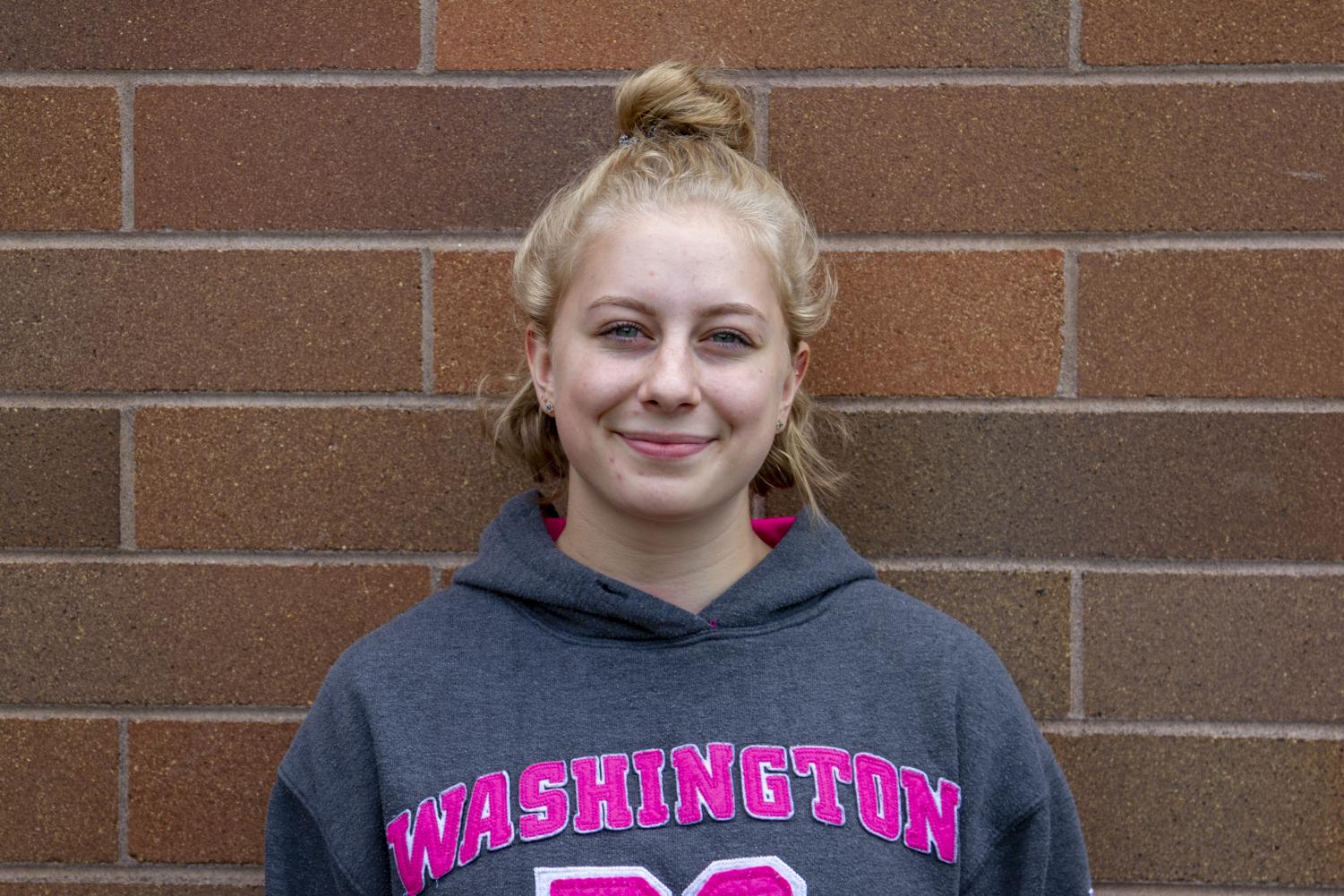 Outside of school, sophomore Madison Fahlman-Katler does CrossFit five to six times a week.