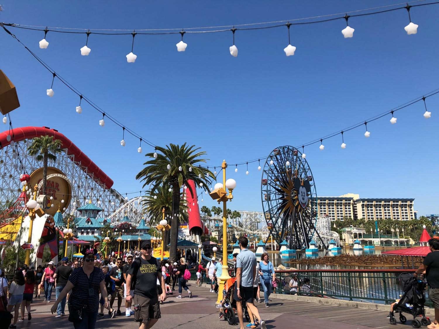 The staff of The Falconer visited Disney California Adventure Park while in Anaheim, CA for the Spring National High School Journalism Convention.