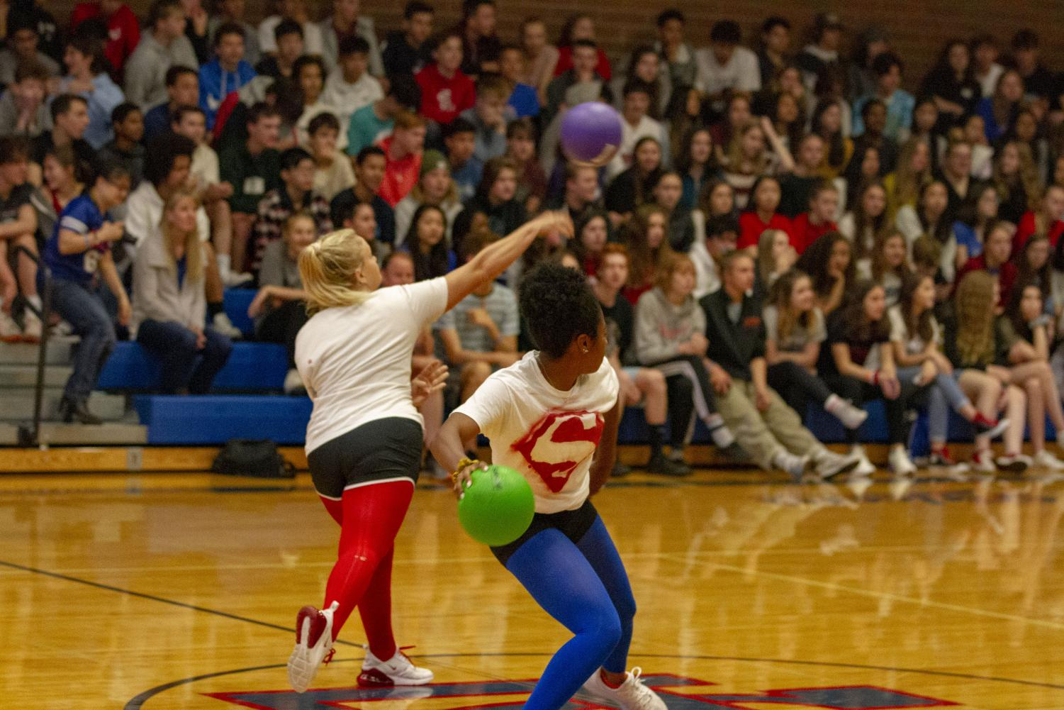 Students+participate+in+the+cream+puff+dodgeball+tournament.