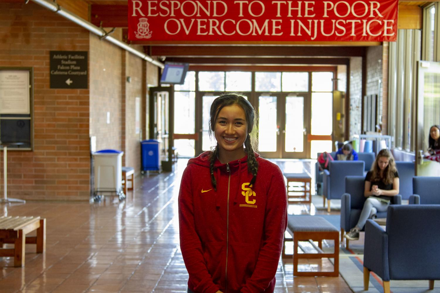 With 16 Division 1 offers to play basketball, Alyson Miura chose the University of Southern California.