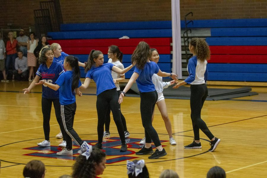 Tryouts for the dance team take place on Aug. 21-23.