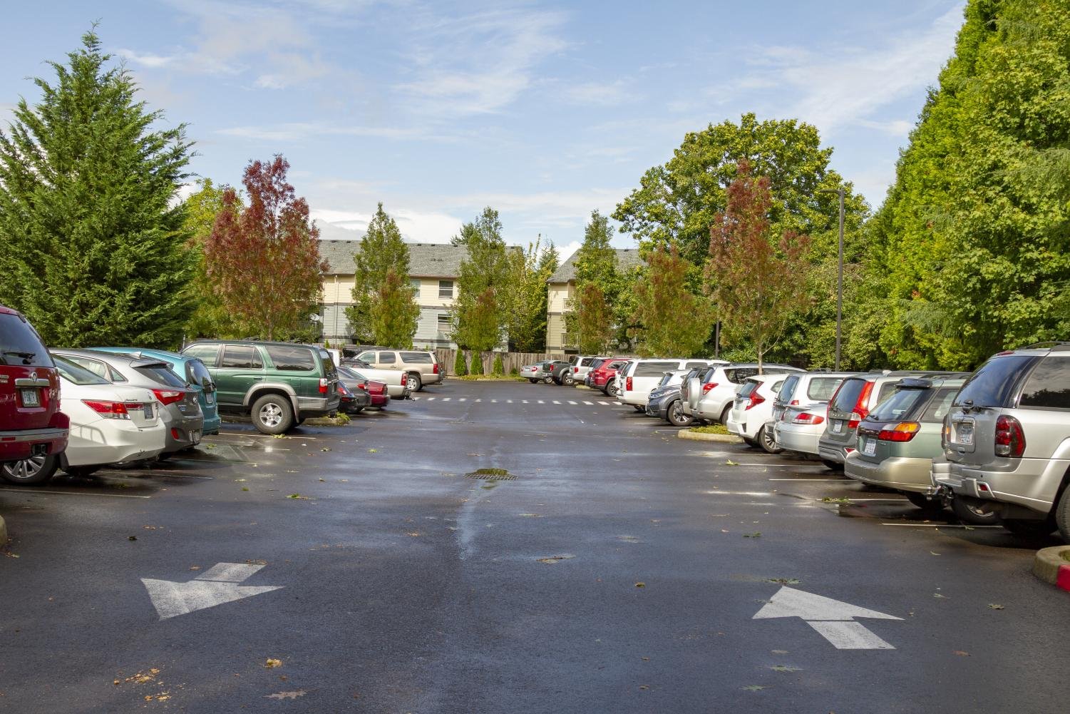 Only 42 spots are now available to La Salle student drivers who park in the Christ the King parking lot.