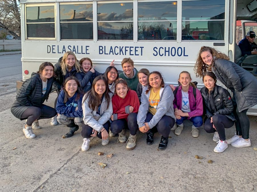 A+group+of+13+La+Salle+seniors+traveled+to+Browning%2C+Montana+to+volunteer+at+De+La+Salle+Blackfeet+School+from+Oct.+12+to+Oct.+19.