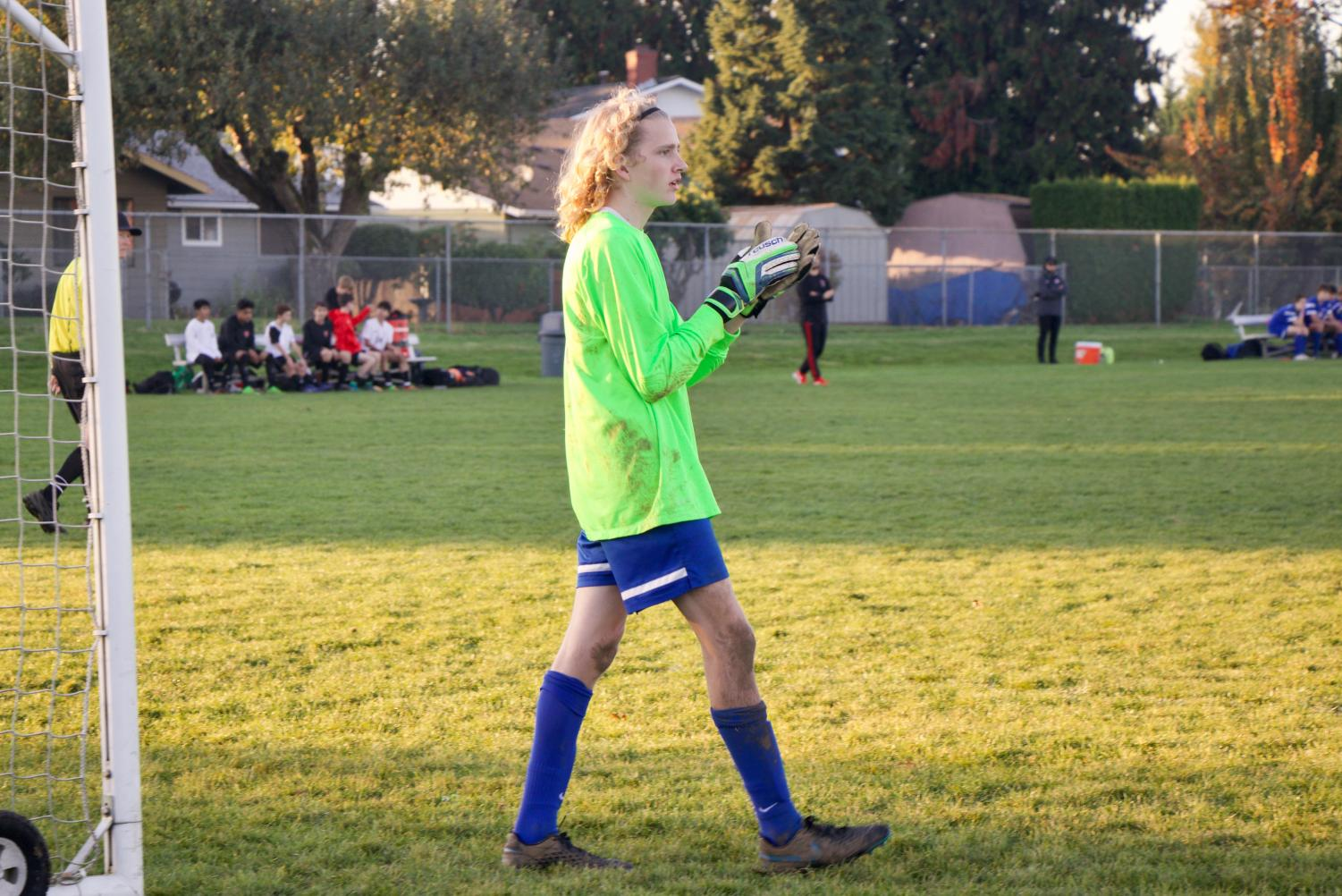 On Wednesday, October 23, the JV2 soccer team hosted their first ever official junior night to celebrate Ian Simmons.