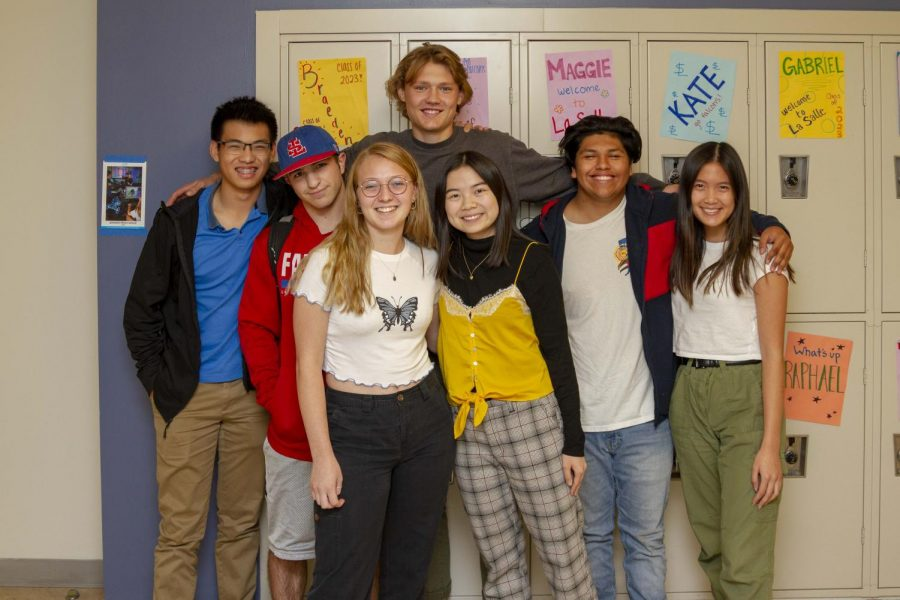 Students show off a diverse range of style and fashion choices within the halls of La Salle.
